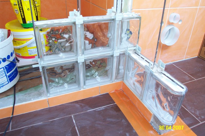 Block lock brique de verre communaut leroy merlin - Montage brique de verre exterieur ...