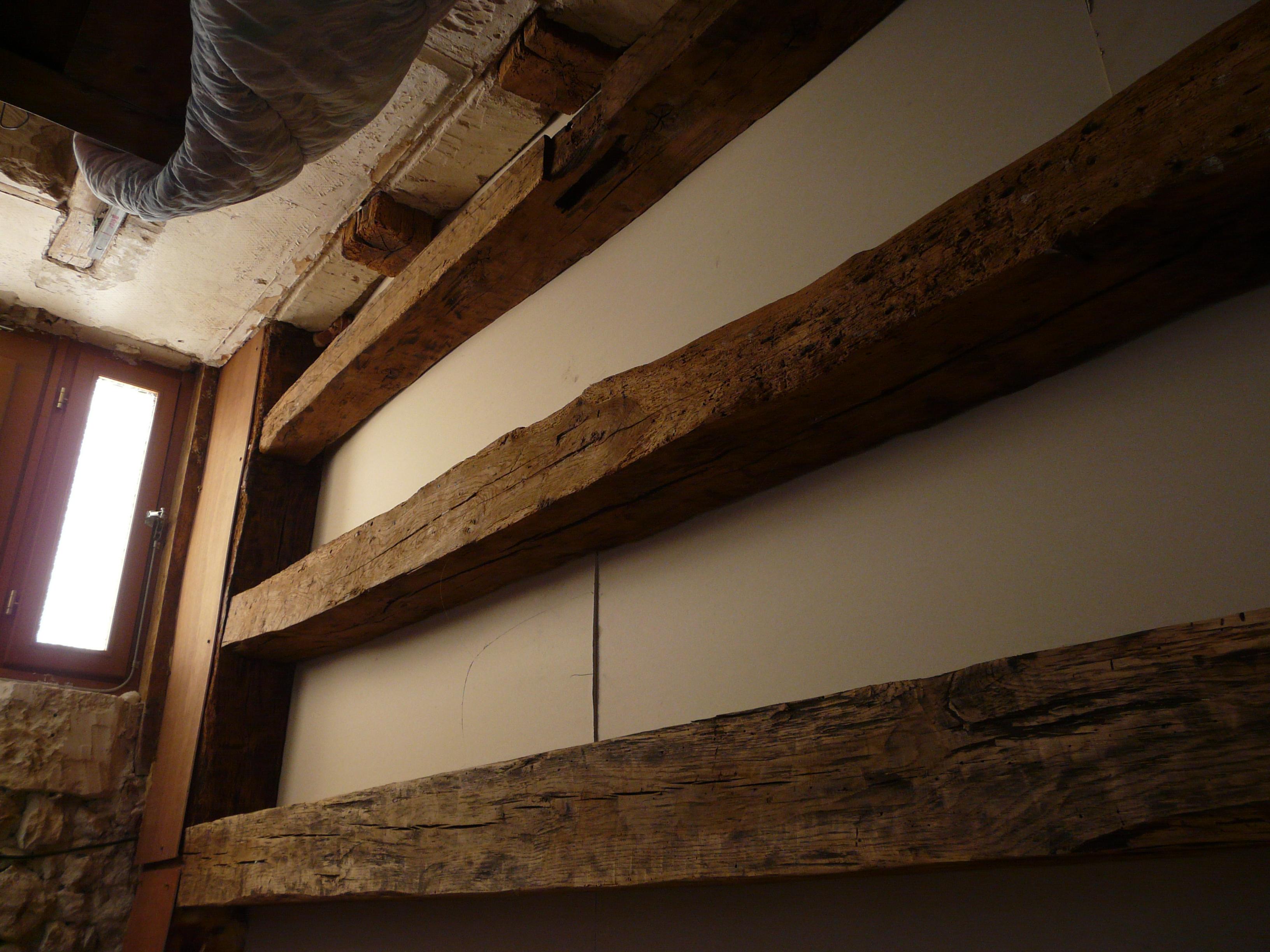 remplacement plafond en torchis et plancher communaut. Black Bedroom Furniture Sets. Home Design Ideas