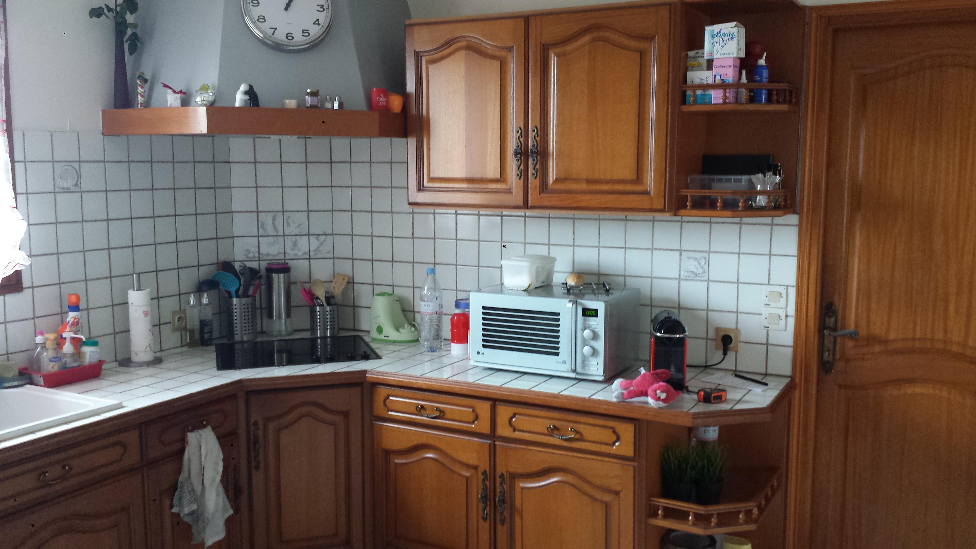 Peindre mes anciens meubles de cuisine communaut leroy - Modele cuisine equipee leroy merlin ...