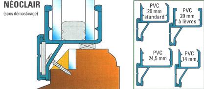 Renovation double vitrage type neoclair rainure - Cout changement fenetre double vitrage ...