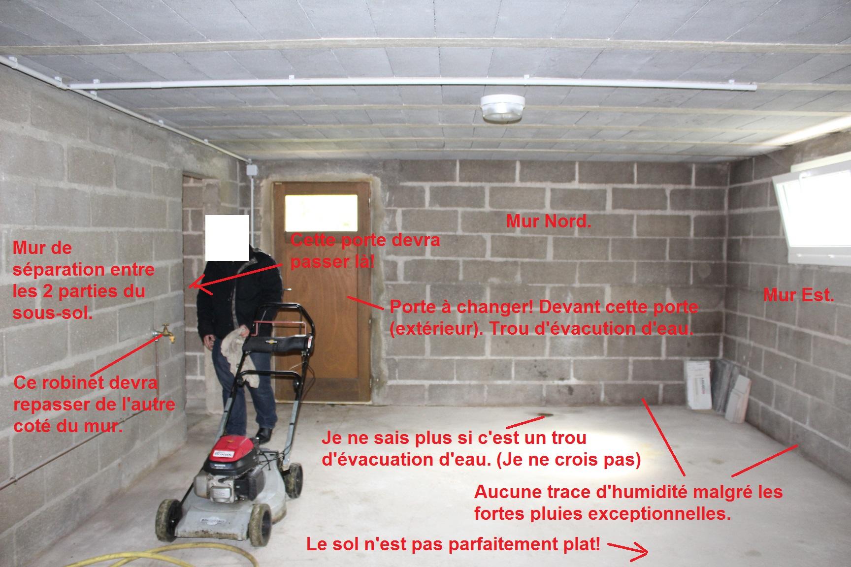 Ventilation Sous Sol Semi Enterré isolation sous-sol semi-enterré pour accueil visit