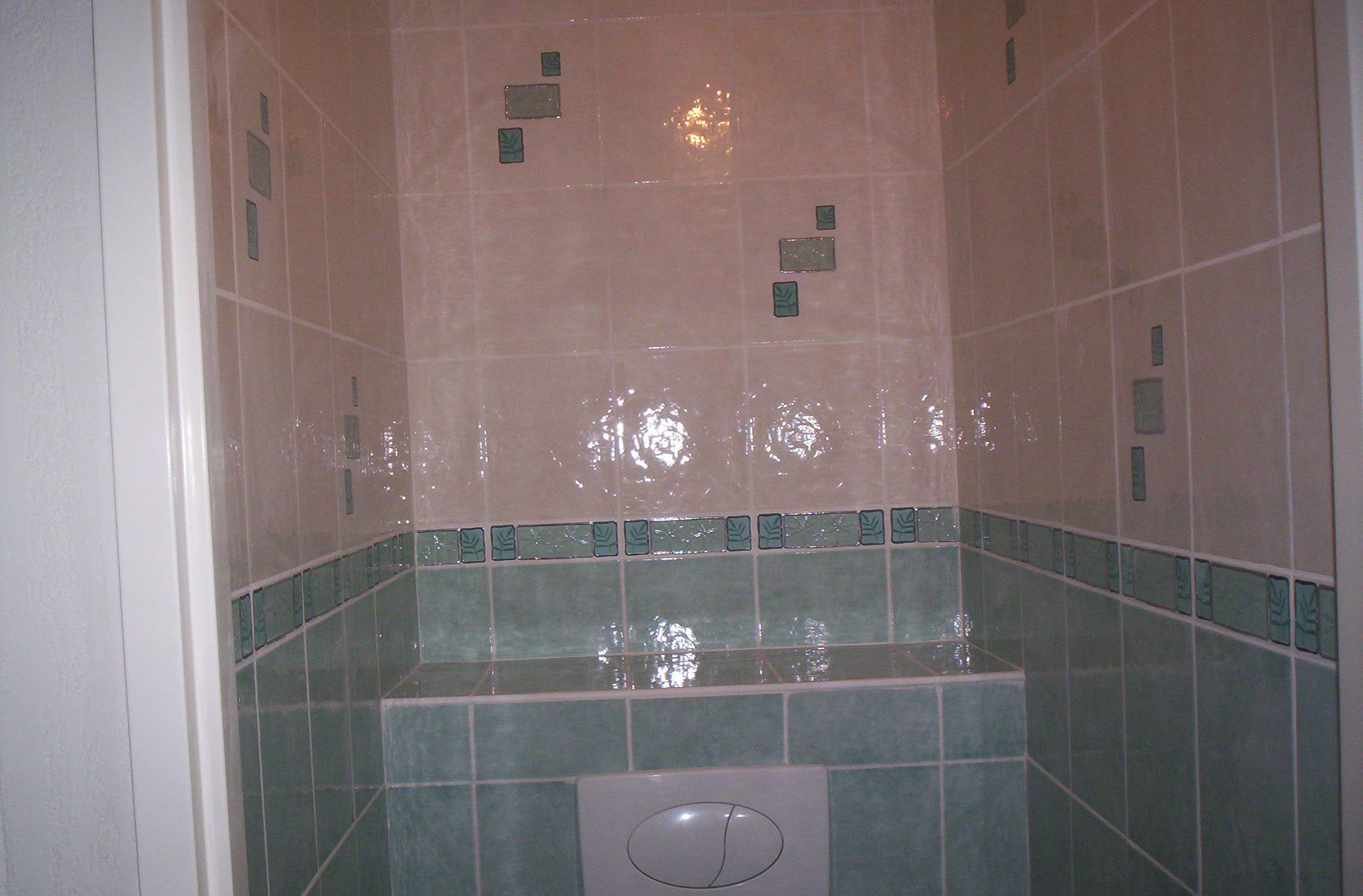 Leroy merlin salle de bain exemple with stickers carrelage for Carreaux salle de bain leroy merlin