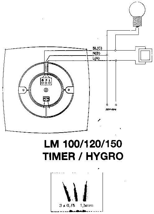 Branchement Extracteur SDB Hygro Munauté Leroy Merlin