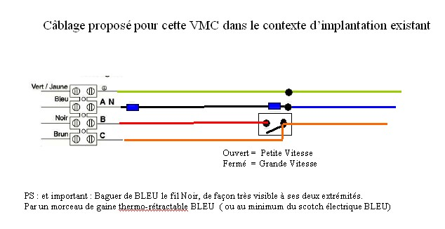 Schema cablage vmc olympic - Branchement vmc double flux ...