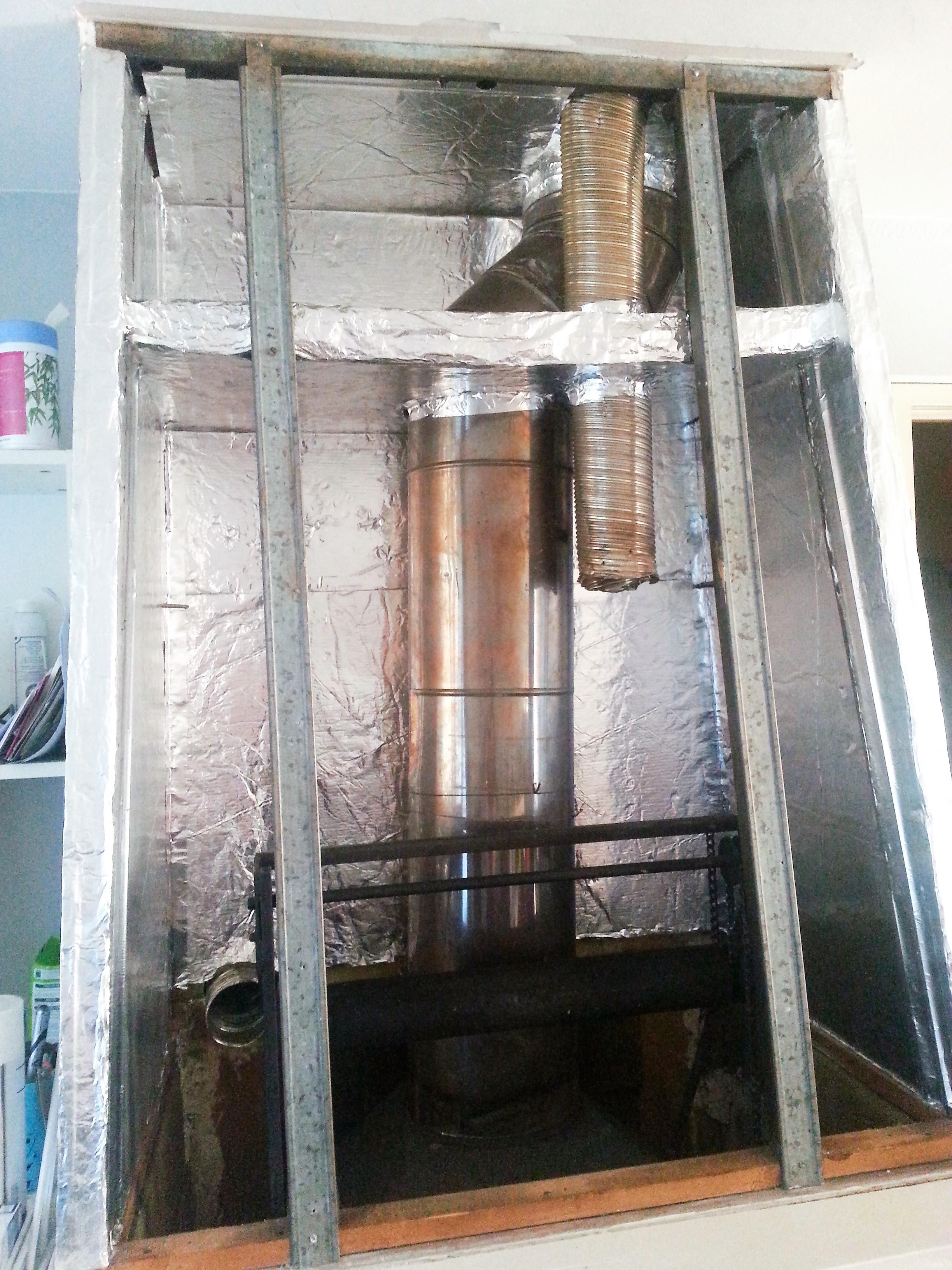 Récupération de chaleur hotte de cheminée - Communauté Leroy Merlin