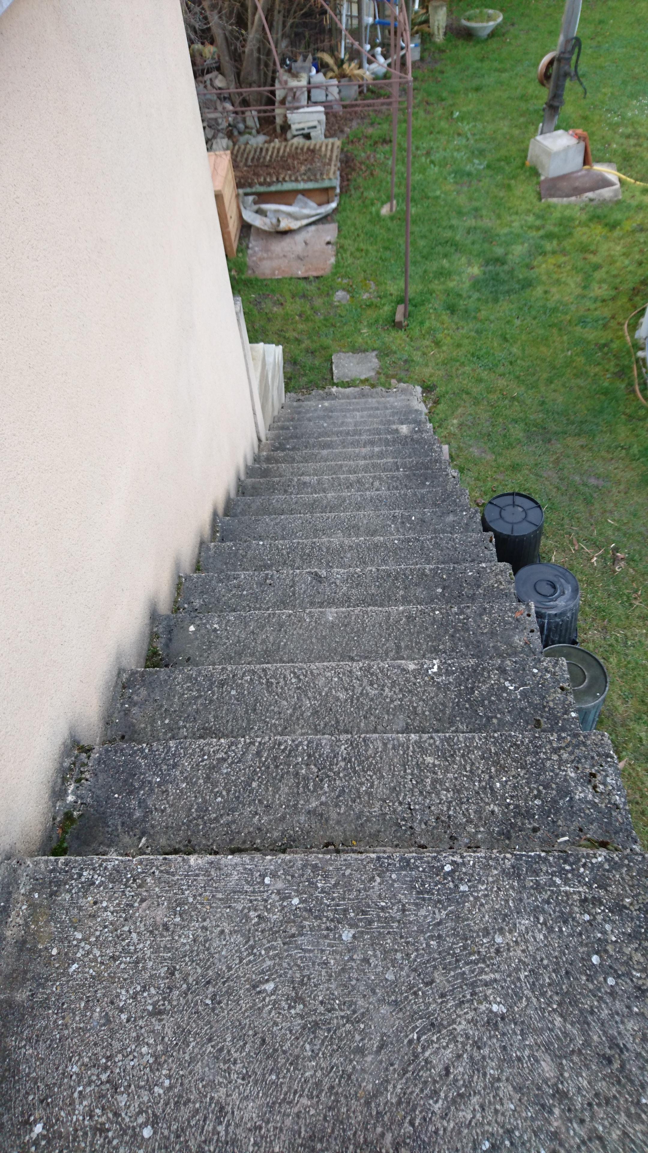 Habiller Un Escalier En Lame Composite Gamboahinestrosa