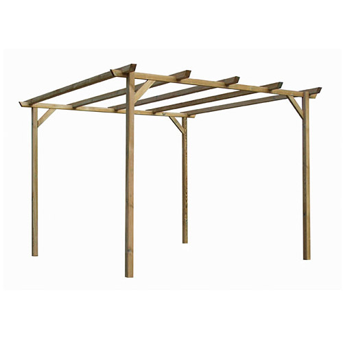 construction d 39 une pergola en bois communaut leroy merlin. Black Bedroom Furniture Sets. Home Design Ideas